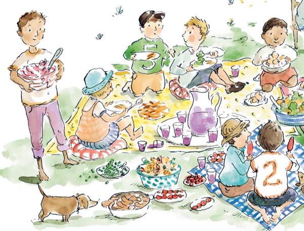 А ещё здесь рассказывается много любопытного о растениях и животных, которые можно поселить в саду. Кроме того, в книге немало поделок, рецептов блюд, игр и разнообразных идей — все они помогут забыть о скуке на летних каникулах.