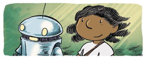 Малыш Робот — славный наследник Электроника, Буратино, Винни-Пуха и всех остальных оживших игрушек, о которых мечтают дети. Его дружба с человеком началась со случайности: коробка, в которой он находился, выпала из грузовика в реку.