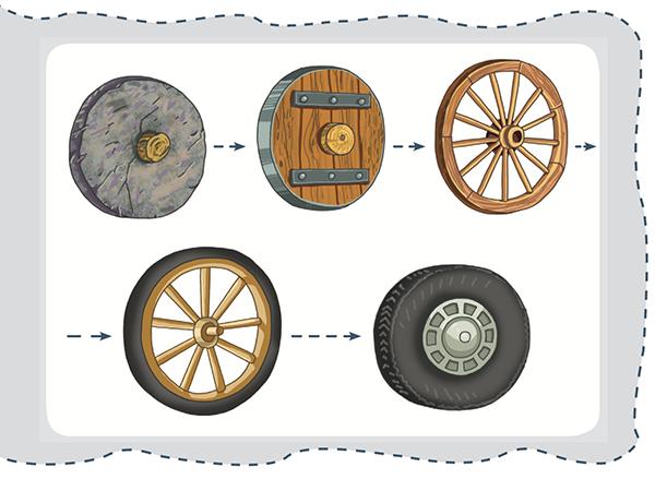 Вот взять, например, колесо. Раньше я не придавал ему значения: подумаешь, круг катится — это всем известно.