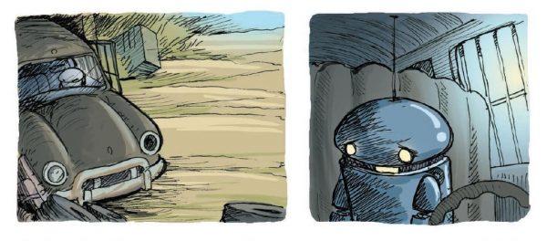 Общаться с роботом ничуть не легче, чем с живыми людьми. Да, его можно оставить ночью в брошенной машине, не боясь, что он станет добычей стаи бездомных кошек.