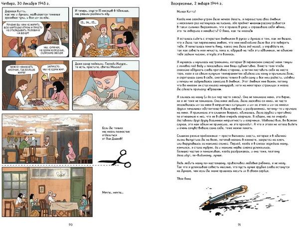 Графическая версия дневника создана сценаристом Ари Фольманом и художником Дэвидом Полонски