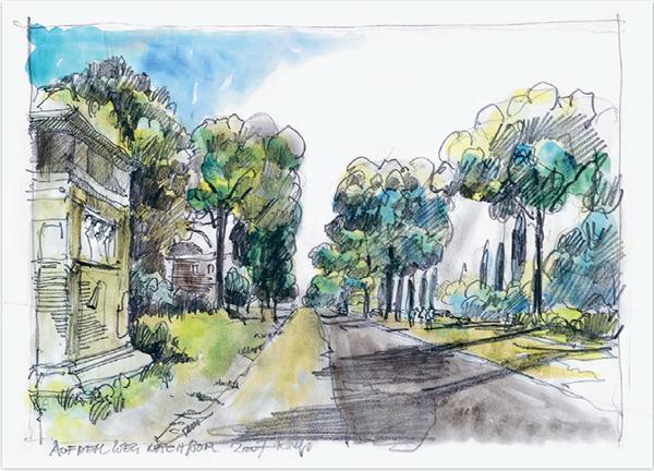 Улица, Италия