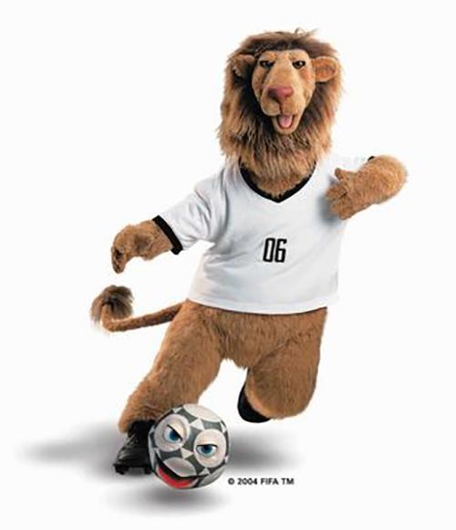 Голео — лев с говорящим мячом