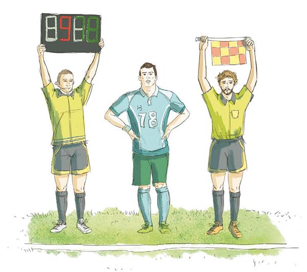 Когда судья бросает монетку, команда при удаче может выбрать ворота, которые будет защищать в первом тайме.
