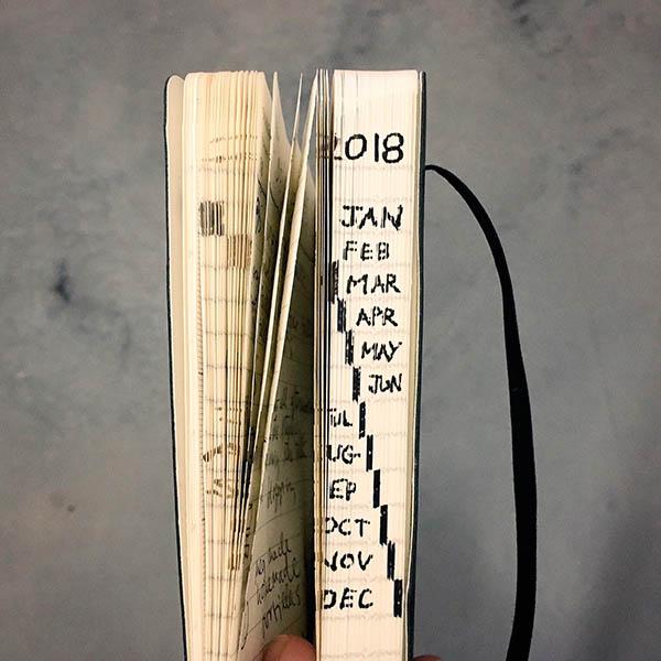 Вообще Остин Клеон давно славится своей любовью к бумажным блокнотом. Вот несколько фотографий из его коллекции:
