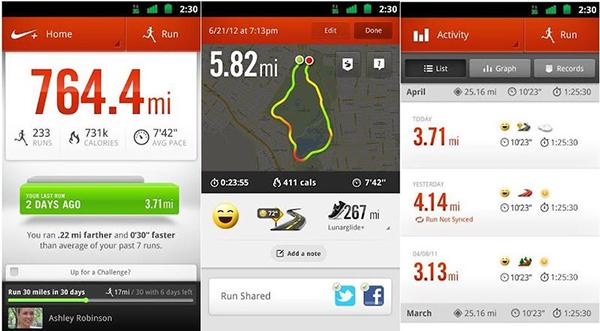 Пока вы бежите, на экране iPod в реальном времени отображается ваша статистика. Ускорение сразу же приносит внутреннее удовлетворение, поскольку вы видите, как меняются показатели.