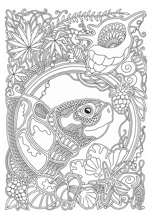 «Ветер уносит цветы» — раскраска для всех, кто любит рисовать.