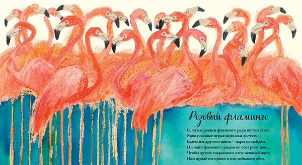 Или же быть самостоятельным произведением искусства, которое удачно дополняет поэзия. Как, например, в удивительной «Красивой книге о животных».