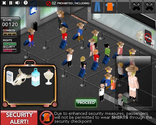 Jetset — первая в мире видеоигра для аэропортов. Это анимационный симулятор очереди на прохождение контроля безопасности. Загрузите игру на iPhone, и на экране вы увидите, как пассажиры направляются к металлоискателю, а виртуальный багаж проходит через рентгеновский аппарат.