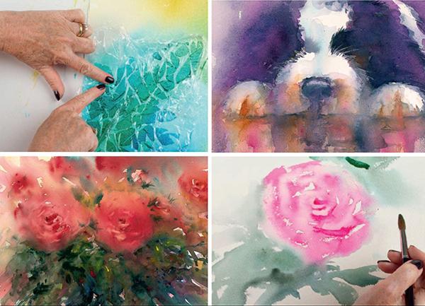 Эта книга как большой цветущий сад — тут и там на страницах распускаются розы, душистый горошек, причудливые маки и гвоздики. Ещё порхают пёстрые птицы — фламинго, петухи, попугайчики. Рисовать их понравится и новичкам, и даже художникам со стажем. Дивный акварельный мир!