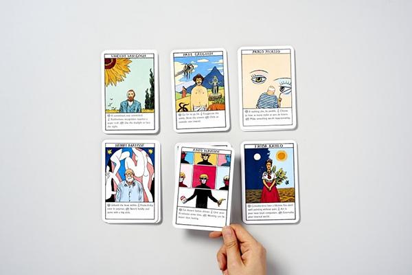 «Оракул» устроен по принципу карт «таро». Вы задаете вопрос, тянете карту и получаете ответ в стиле Караваджо или Дали. Всего — 150 советов от 50 мастеров искусства.
