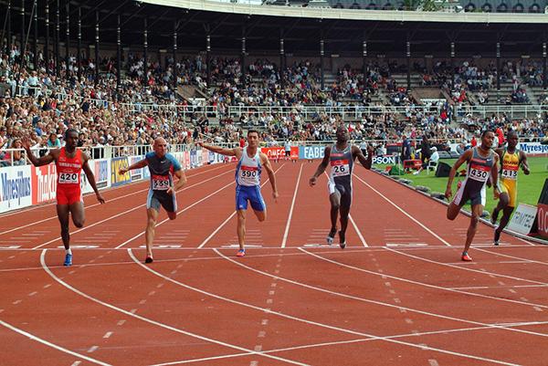 Спринтеры умеют выкладываться на дистанции полностью.