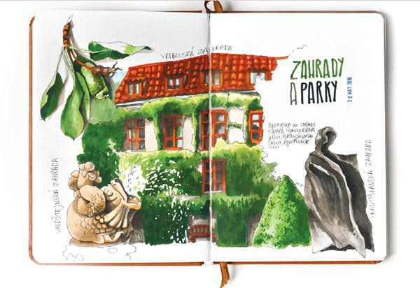 Если вы пока не знаете, что бы нарисовать, держите список вдохновляющих тем от Анны Расторгуевой.