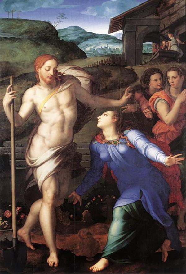 Например, Бронзино для своих картин с Иисусом часто использовал одного и того же натурщика с выразительной рыжей бородой.