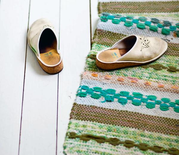 Шведские тряпичные коврики называются трасматта
