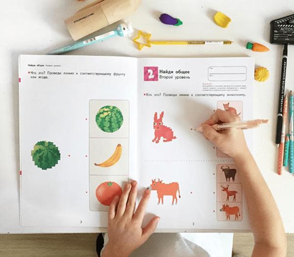 Вот с каких тетрадей можно начать обучение особенных деток.