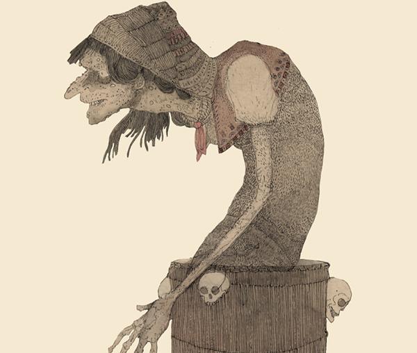 Баба-яга - ведьма в избе на курьих ногах