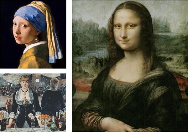 Рембрандт, Караваджо, Леонардо Да Винчи, Ян Вермеер — ребенок узнает, чем прославились эти мастера почему их работы признаны шедеврами.