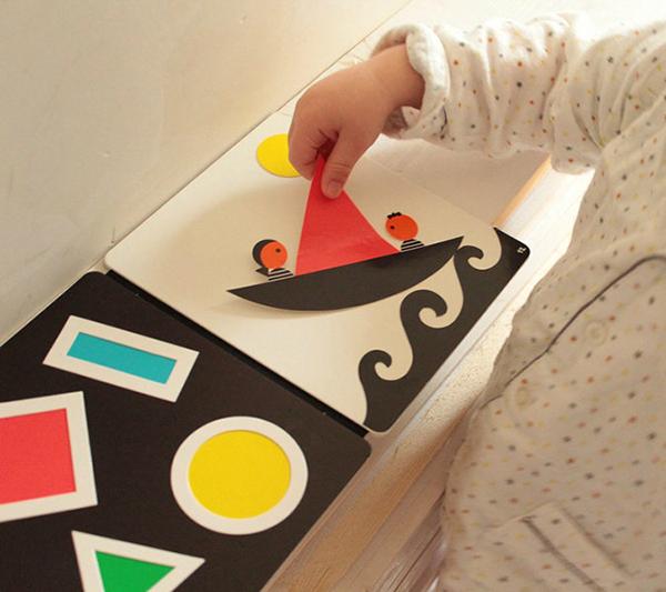 Иллюстрации в «Малыш, смотри» крупные, не перегруженные деталями