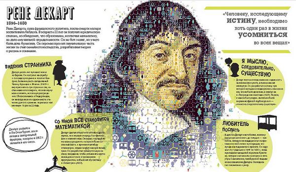 Нетипичная энциклопедия по философии, которая с помощью интересных очерков и инфографики объясняет основные концепты, теории, эксперименты
