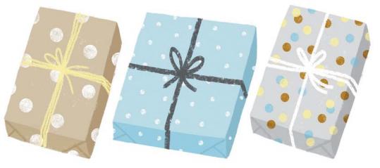 Упаковываем новогодние подарки