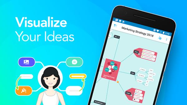 Онлайн-инструмент для майндмэппинга, который позволяет визуально запечатлеть идеи