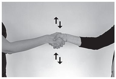 Используйте рукопожатие