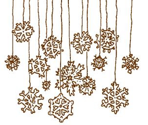 Бумажный снегопад