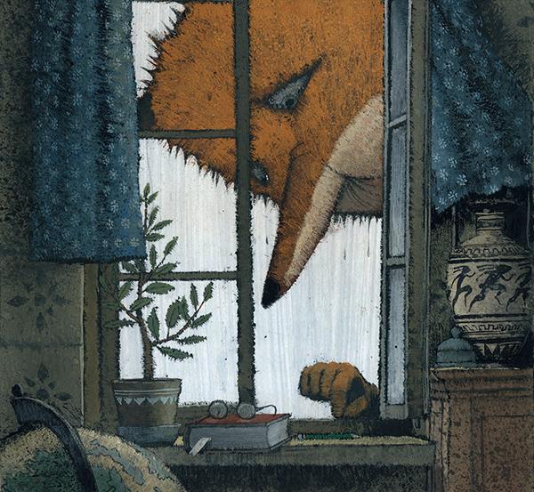 Кстати, о потрясающих иллюстрациях — вы видели «Лису и Зайца» Игоря Олейникова?