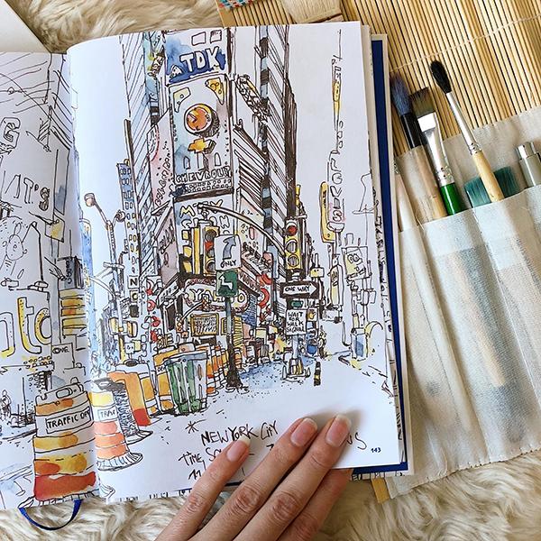 «Скетчи без границ» — книга, с которой можно смело начинать знакомство с основами быстрого рисунка