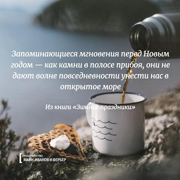 8. Запоминающиеся мгновения перед Новым годом — как камни в полосе прибоя, они не дают волне повседневности унести нас в открытое море