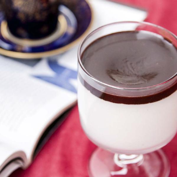 «Птичье молоко» в стаканчике