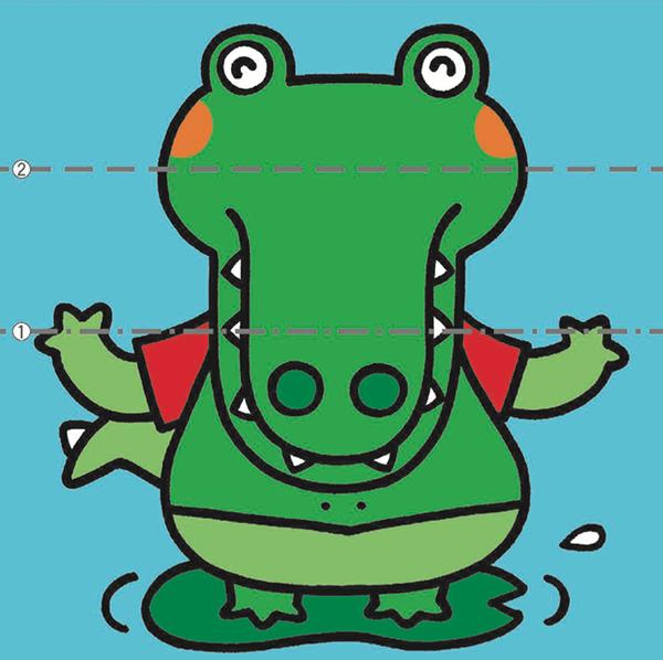 «Давай сложим картинки!» — еще одна тетрадь, где выполненное задание становится игрушкой.