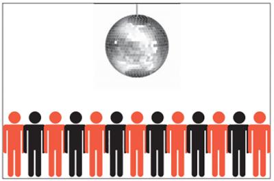 В твердом теле атомы (и молекулы) подобны толпе танцоров в маленьком зале
