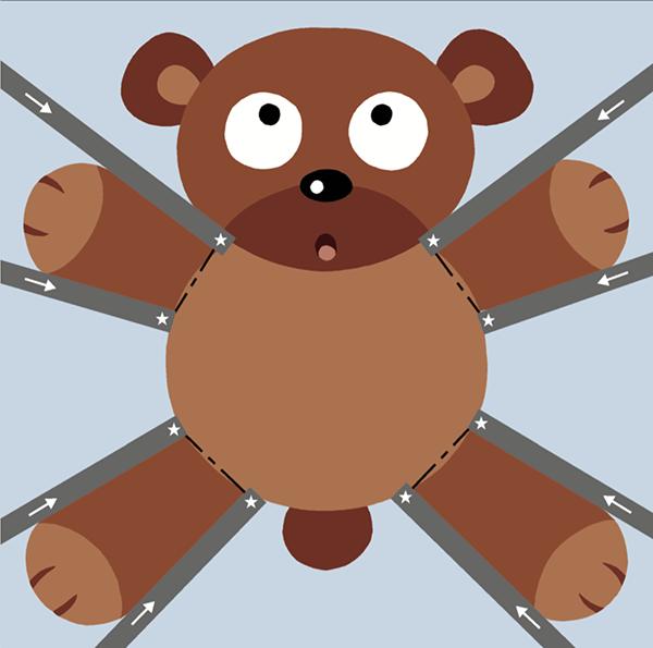 Главная особенность тетради «Давай вырезать!» в том, что вырезанные детали становятся игрушками!