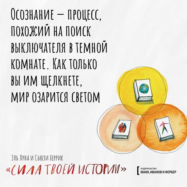 Открытки по книге «Сила твоей истории»