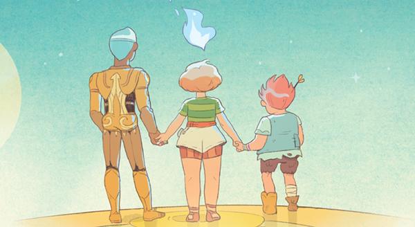 Серия «5 Миров» — захватывающая история в духе «Аватар: Легенда об Аанге».
