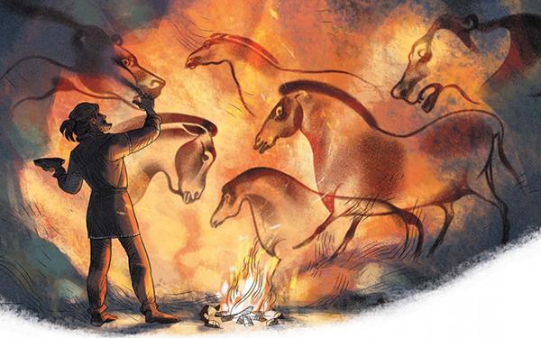У наших далеких предков была и одежда, и теплые жилища, и вкусная еда.