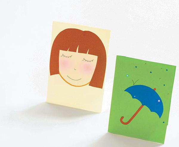 Разобравшись с питанием схемы, переходите к дизайну открытки — сделайте ее светящейся.