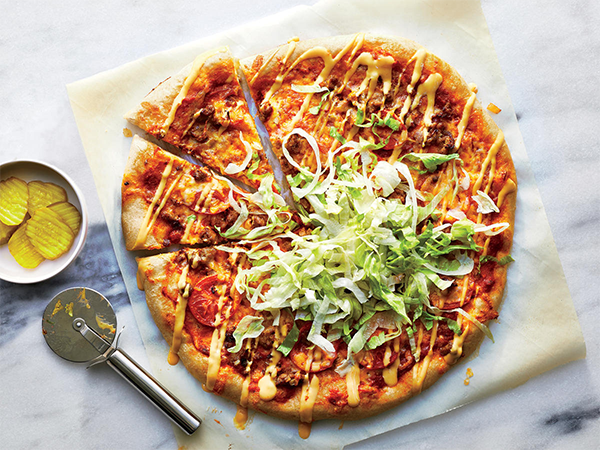 Пицца, богатая пищевыми волокнами