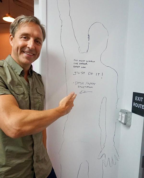 Дэйв Эспри - автор книги «Биохакинг мозга»