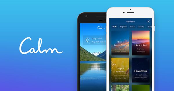 Calm предлагает бесплатную семидневную программу, которая поможет начать работу над развитием осознанности.