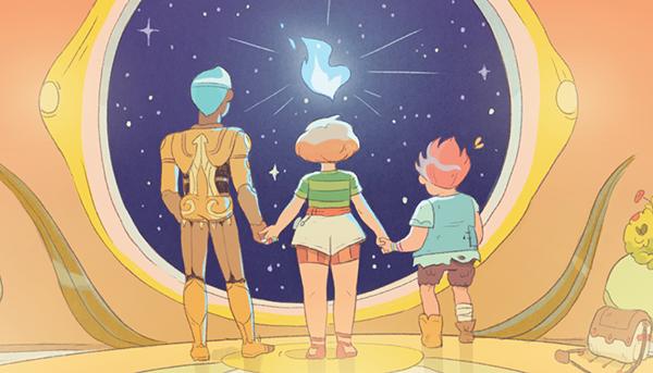«Пять миров» — это история ещё и о том, как рождается дружба.