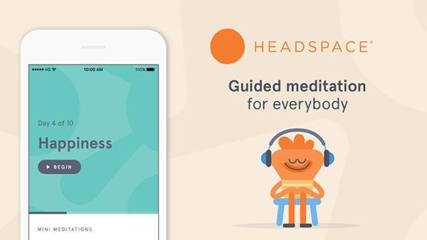 Headspace тоже помогает познакомится с медитацией.