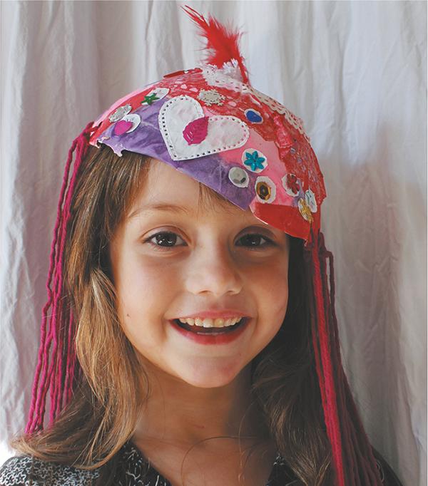 Сделайте для костюмной вечеринки или просто веселого маскарадного вечера шляпы из папье-маше.