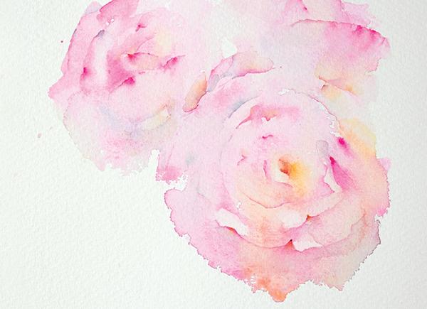 Новички обычно считают необходимым нарисовать листья, но на самом деле цветы на картине прекрасно смотрятся без всякой зелени.
