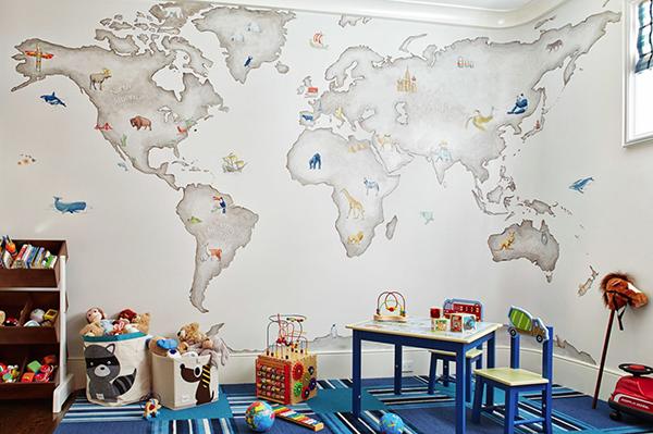 Если и есть комната, где можно использовать тематический декор без страха показаться вульгарным, то это детская.