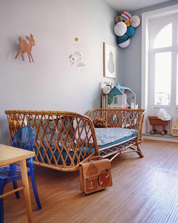 Выбирайте детские товары из натуральных материалов и дерева, это экологично и эстетично.