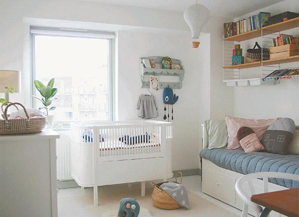 Детская комната — место, где можно поэкспериментировать.